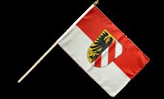 Stockflagge Deutschland Stadt Nürnberg - 30 x 45 cm