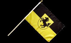 Stockflagge Deutschland Stadt Stuttgart - 30 x 45 cm