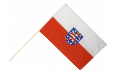 Stockflagge Deutschland Thüringen - 60 x 90 cm