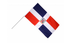 Stockflagge Dominikanische Republik - 60 x 90 cm