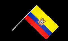 Stockflagge Ecuador - 60 x 90 cm