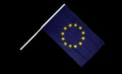 Stockflagge Europäische Union EU - 60 x 90 cm