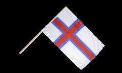 Stockflagge Färöer-Inseln - 60 x 90 cm