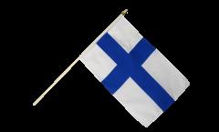 Stockflagge Finnland - 30 x 45 cm