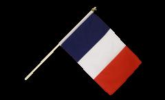 Stockflagge Frankreich