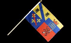 Stockflagge Frankreich Ain - 30 x 45 cm