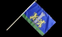 Stockflagge Frankreich Ajaccio - 30 x 45 cm