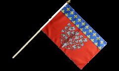 Stockflagge Frankreich Amiens - 30 x 45 cm