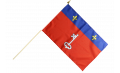 Stockflagge Frankreich Angers - 30 x 45 cm