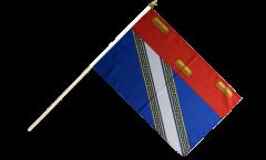 Stockflagge Frankreich Ardennes - 30 x 45 cm