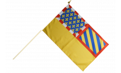 Stockflagge Frankreich Côte-d'Or - 30 x 45 cm