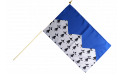 Stockflagge Frankreich Côtes-d'Armor