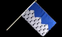 Stockflagge Frankreich Côtes-d'Armor - 30 x 45 cm