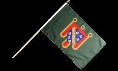 Stockflagge Frankreich Cantal - 30 x 45 cm