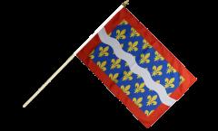 Stockflagge Frankreich Cher - 30 x 45 cm