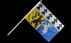 Stockflagge Frankreich Finistère - 30 x 45 cm