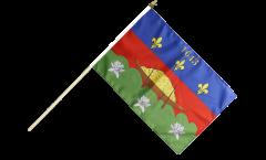 Stockflagge Frankreich Französisch Guayana Cayenne - 30 x 45 cm