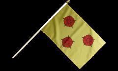 Stockflagge Frankreich Grenoble - 30 x 45 cm