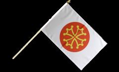 Stockflagge Frankreich Hérault - 30 x 45 cm