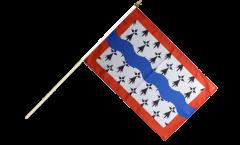 Stockflagge Frankreich Haute-Vienne - 30 x 45 cm
