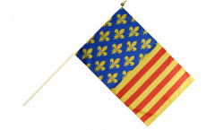 Stockflagge Frankreich Lozère - 30 x 45 cm