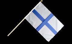 Stockflagge Frankreich Marseille - 30 x 45 cm