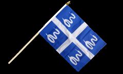 Stockflagge Frankreich Martinique - 30 x 45 cm