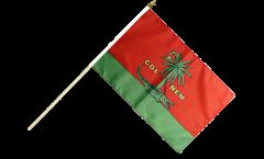 Stockflagge Frankreich Nîmes - 30 x 45 cm