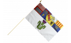 Stockflagge Frankreich Nancy - 30 x 45 cm