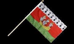 Stockflagge Frankreich Nantes - 30 x 45 cm