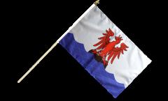 Stockflagge Frankreich Nizza - 30 x 45 cm