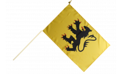 Stockflagge Frankreich Nord - 30 x 45 cm