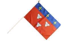 Stockflagge Frankreich Orléans - 30 x 45 cm