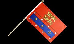 Stockflagge Frankreich Orne - 30 x 45 cm