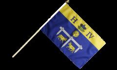 Stockflagge Frankreich Pau - 30 x 45 cm