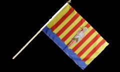 Stockflagge Frankreich Perpignan - 30 x 45 cm