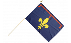 Stockflagge Frankreich Provence - 30 x 45 cm
