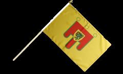 Stockflagge Frankreich Puy-de-Dôme - 30 x 45 cm