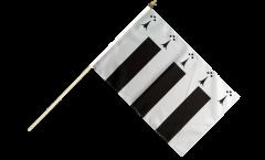 Stockflagge Frankreich Rennes - 30 x 45 cm