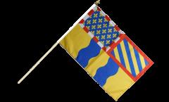 Stockflagge Frankreich Saône-et-Loire - 30 x 45 cm
