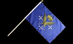 Stockflagge Frankreich Saint-Étienne - 30 x 45 cm