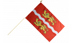 Stockflagge Frankreich Seine-Maritime - 30 x 45 cm