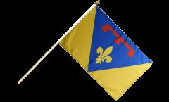 Stockflagge Frankreich Var - 30 x 45 cm
