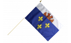 Stockflagge Frankreich Versailles - 30 x 45 cm