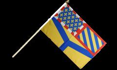 Stockflagge Frankreich Yonne - 30 x 45 cm