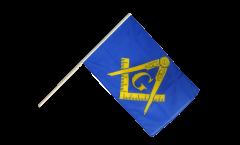 Stockflagge Freimaurer