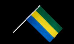 Stockflagge Gabun - 60 x 90 cm