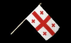 Stockflagge Georgien - 30 x 45 cm