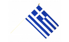 Stockflagge Griechenland