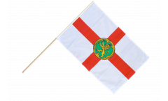 Stockflagge Großbritannien Alderney - 60 x 90 cm